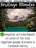 Heritage Minutes: Volume 1