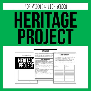 Heritage Project - Research Your Ancestry!