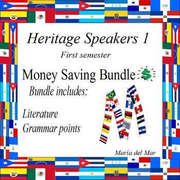 Heritage Speakers 1 Bundle (Curriculum) first semester