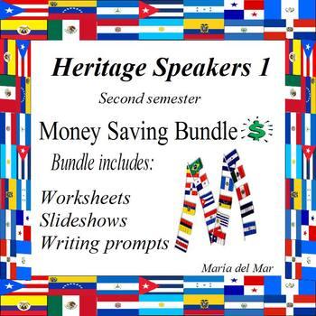 Heritage Speakers 1 (second semester) curriculum