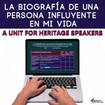 Heritage Speakers Unit: La biografía de una persona influyente en mi vida
