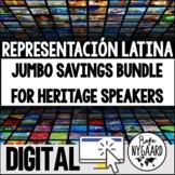 Heritage Speakers Unit: Representación latina (both versio