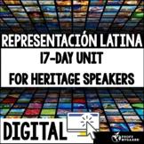 Heritage Speakers Unit: Representación latina (distance le