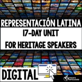 Heritage Speakers Unit: Representación latina (distance le