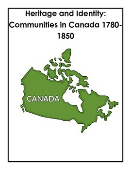 Complete Grade 3 Ontario Social Studies Inquiry-Based Unit (Heritage)