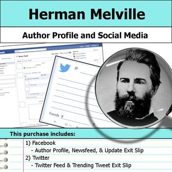 Herman Melville - Author Study - Profile and Social Media
