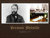 Herman Melville Biographical Overview Slides
