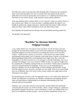 Herman Melville - Easy Reading Versions of Two Stories