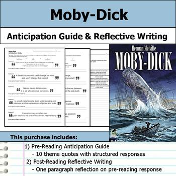 Herman Melville Literature Unit - Moby-Dick and Bartleby the Scrivener