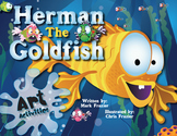 Herman the Goldfish - Art - Let's Make Sharks, Goldfish and Eels