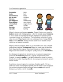 Hermanos Gemelos Lectura - Fun Spanish Reading with Stem-Change (Shoe) Verbs
