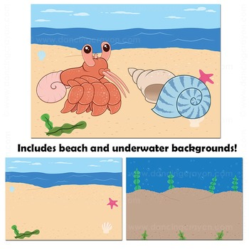 Hermit Crab Clip Art