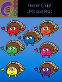 Hermit Crab Clip Art  Color Images