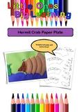 Hermit Crab Paper Plate