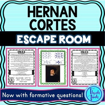 Hernan Cortes ESCAPE ROOM:  Explorers - Aztec Empire