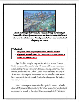 Hernan Cortes and the Aztec Empire