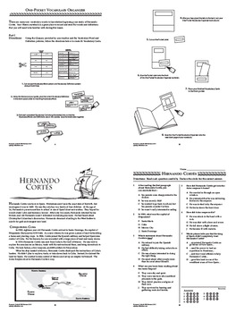 Hernando Cortes Interactive Notebook Unit