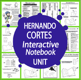 Hernando Cortes Spanish Explorer Interactive Notebook Unit