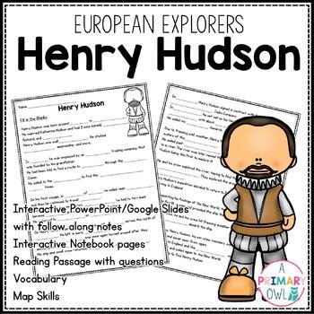 Hernando de Soto: 3rd grade Interactive PowerPoint