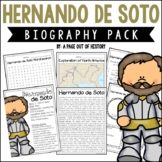 Hernando de Soto Biography Pack (New World Explorers)