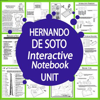 Hernando de Soto Interactive Notebook Unit