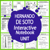 Hernando de Soto Spanish Explorer Interactive Notebook Unit