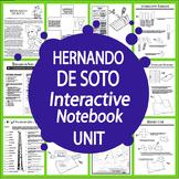 Hernando de Soto Spanish Explorer Interactive Notebook Unit