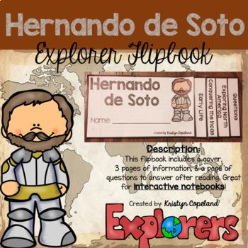 Hernando de Soto Flipbook (Interactive Notebooks