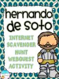 Hernando de Soto Internet Scavenger Hunt WebQuest Activity