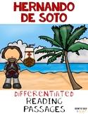 Hernando de Soto Nonfiction Differentiated Reading Passages & Questions