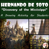 """Hernando de Soto - Recreate """"The Discovery of the Mississippi"""" Paiting"""