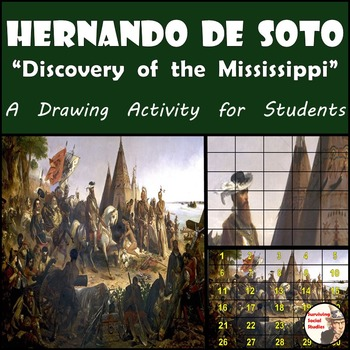"Hernando de Soto - Recreate ""The Discovery of the Mississippi"" Paiting"
