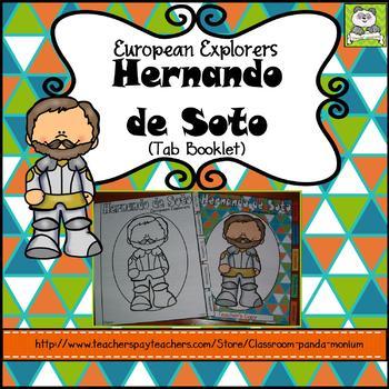 Hernando de Soto Tab Booklet