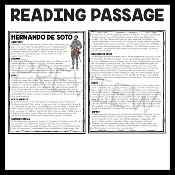 Hernando de Soto article, explorers, Age of Exploration, Florida, Southeastern