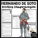 Hernando de Soto Reading Comprehension; Explorer; Southeastern