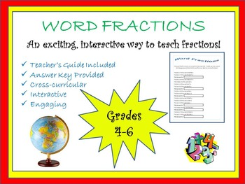 Word Fractions (FREE)