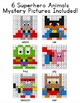 Superhero Animals Hundreds Chart Differentiated Mystery Pictures: Add & Subtract