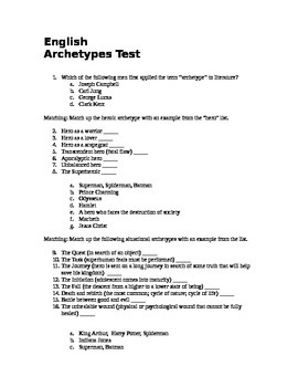 Hero Archetype Test