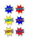 Hero Badge Set 1