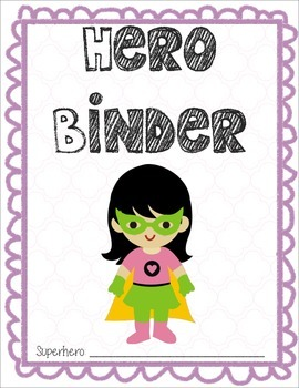 Hero Binder Covers