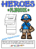 Hero Flip Book for Supporting Social Studies Units