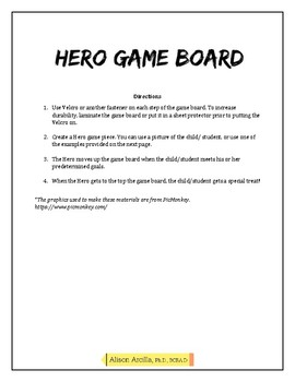 Hero Game Board Reinforcement System