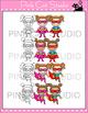 Superhero Theme Girls Clip Art