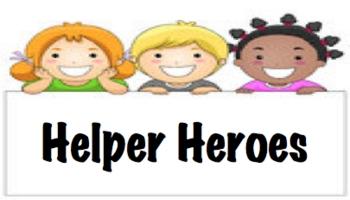 Hero Helper Class Job Chart