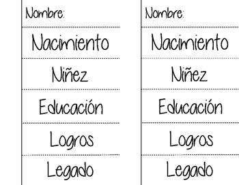 Hero Journal Flaps - 2 Up - English and Spanish