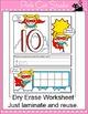 Numbers Posters & Comic Book Number Sense Worksheets - Sup