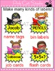 Superhero Theme Name Tags Labels - Back to School Classroom Decor