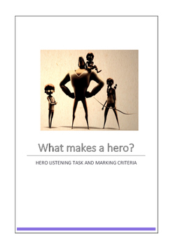 Hero Listening Task and Marking Criteria
