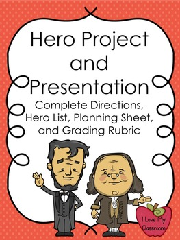 Hero Project, Presentation, and Grading Rubric