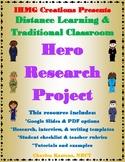 Hero Research Project-Grades 2-4 (Common Core)